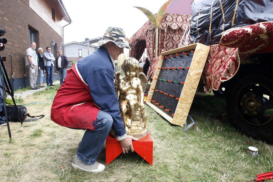 Jūros šventėje – karališki A. Klemencovo kūriniai