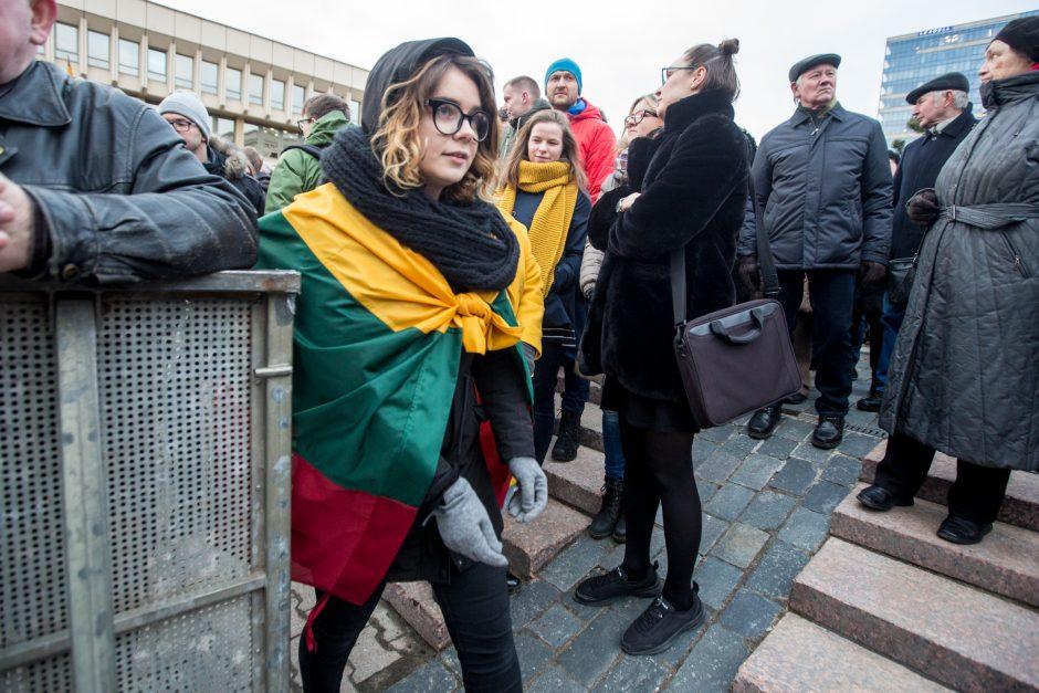 A. Tapinas atskleidė, kokių veiksmų imsis po protesto