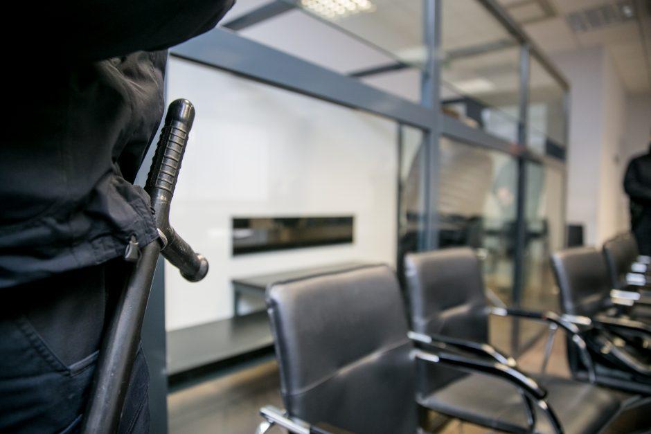 Žudiku tapusio plešiko Luko Majaucko teismas