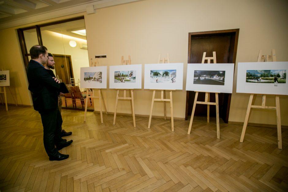 Vienybės aikštės projekto pristatymas