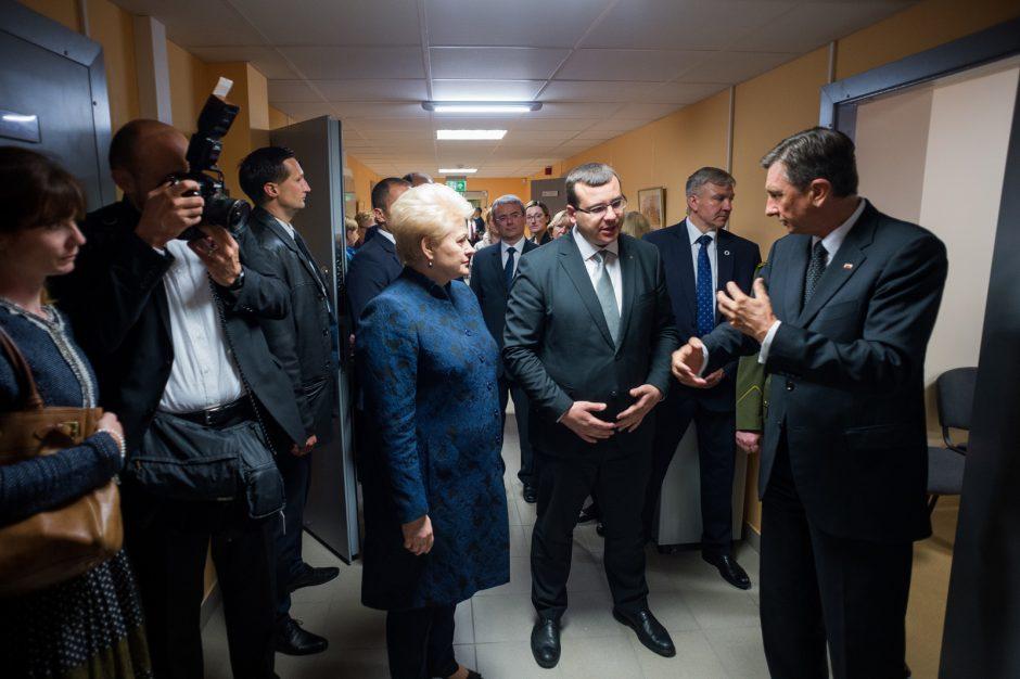 Slovėnijos prezidentas domėjosi Lietuvos kibernetinio saugumo sistema