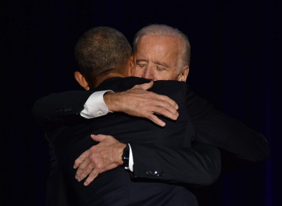 Prezidentas B. Obama pasakė jaudinamą atsisveikinimo kalbą