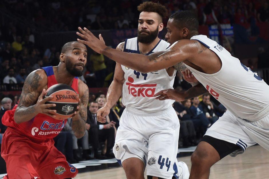 """J. Mačiulio taškai mažajame Eurolygos finale """"Real"""" neišgelbėjo"""