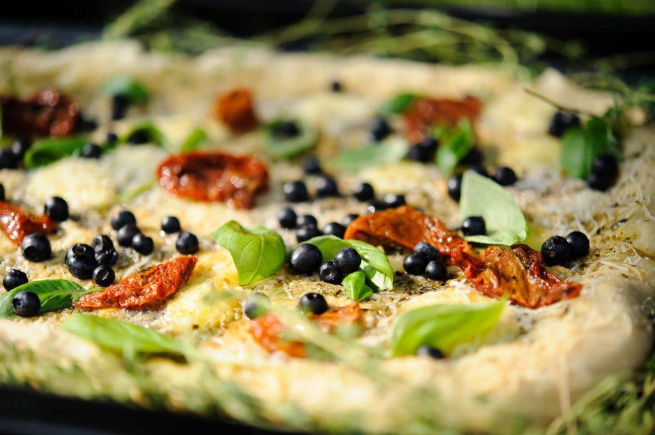 Picos su mėlynėmis receptas