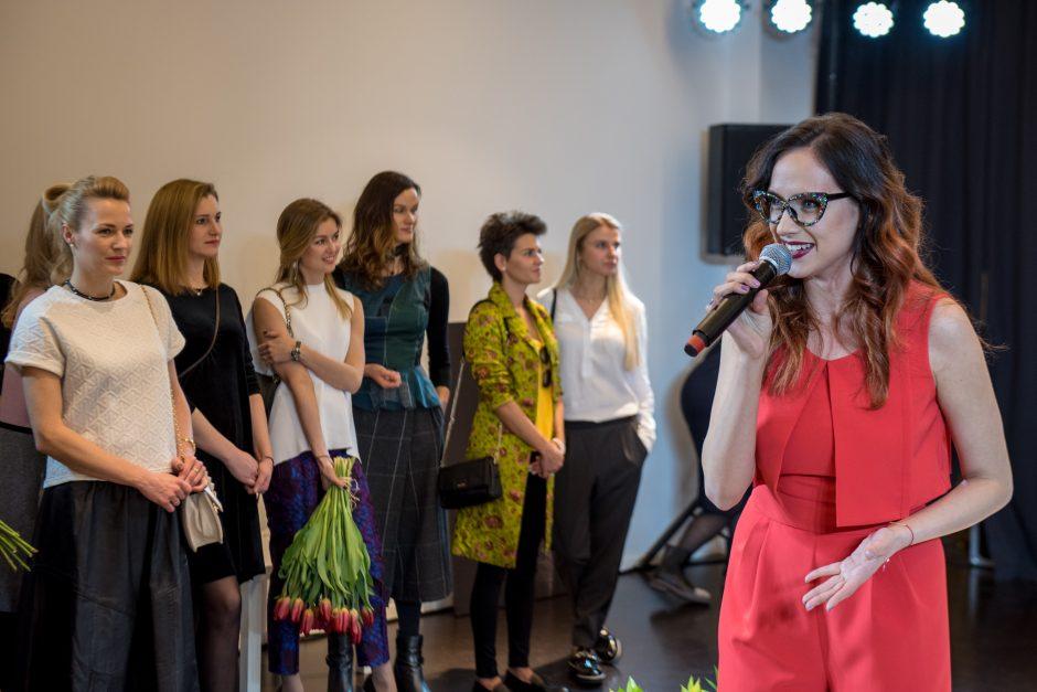 Labdaringame kolekcijos pristatyme – ir žinomos moterys