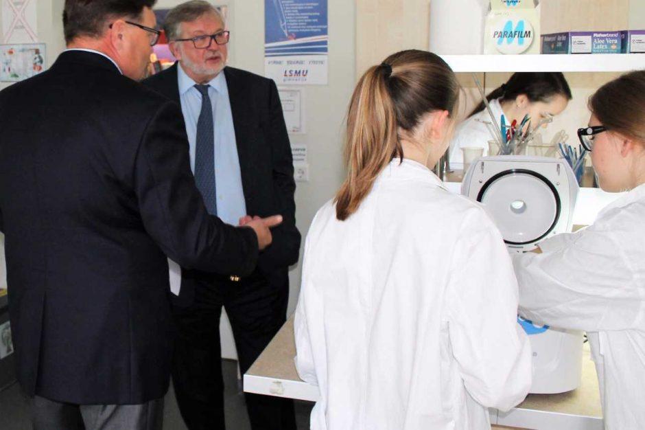 V. A. Bumelis Kaune įžvelgia biotechnologijų klasterio galimybes