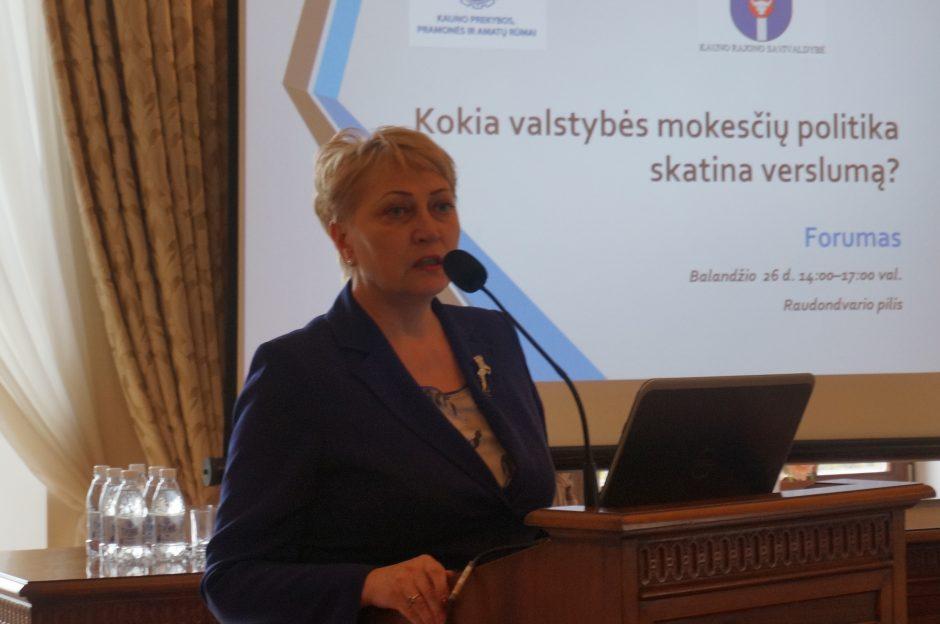 Forumas apie valstybės mokesčių politiką