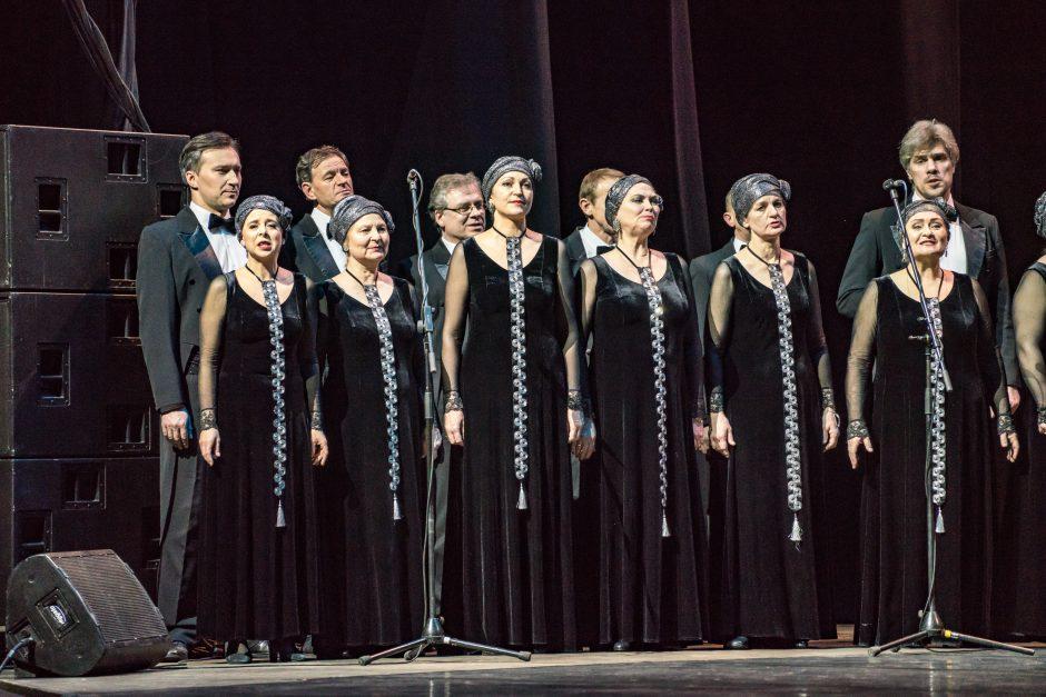 Sausakimšoje Palangos koncertų salėje skambėjo Štrauso muzika