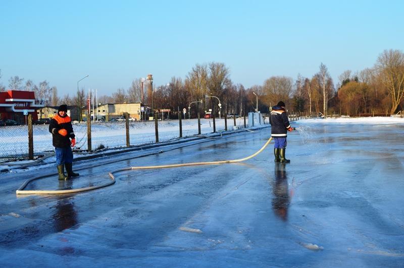 Palanga dovanoja čiuožyklas mieste ir Birutės parke