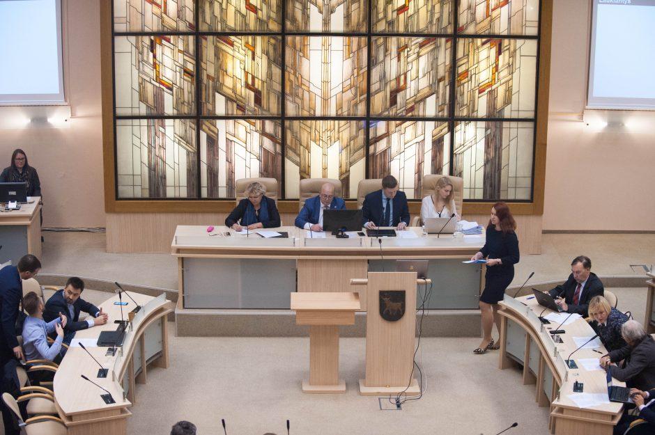 Savivaldybės tarybos posėdis