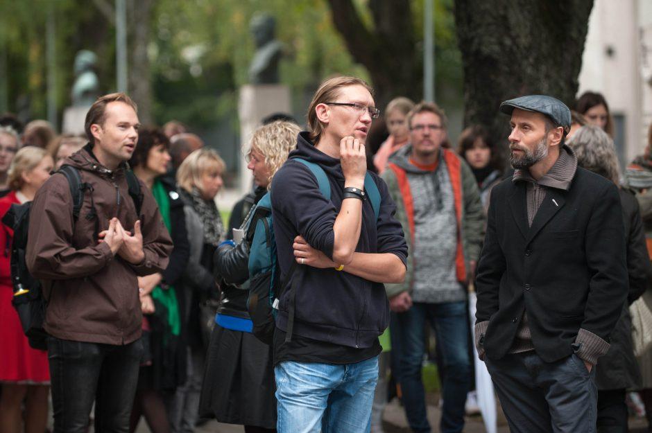 Kauno bienalėje – naujas žvilgsnis į paminklus