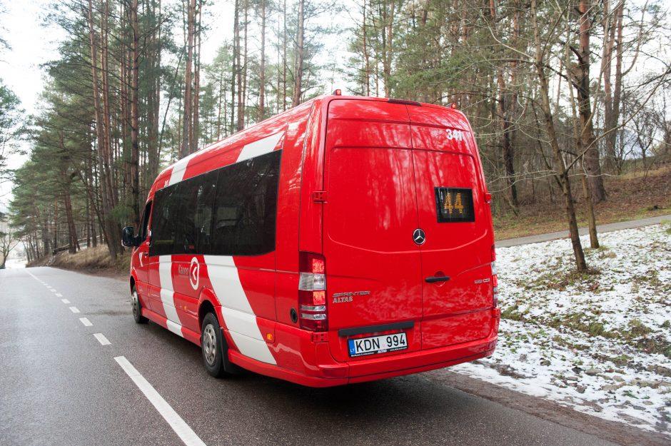 Šventinė dovana kauniečiams – nauji mikroautobusai