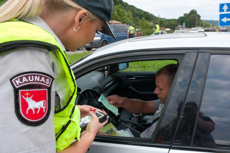 Policijos reidas Kaune: kas įkliuvo?