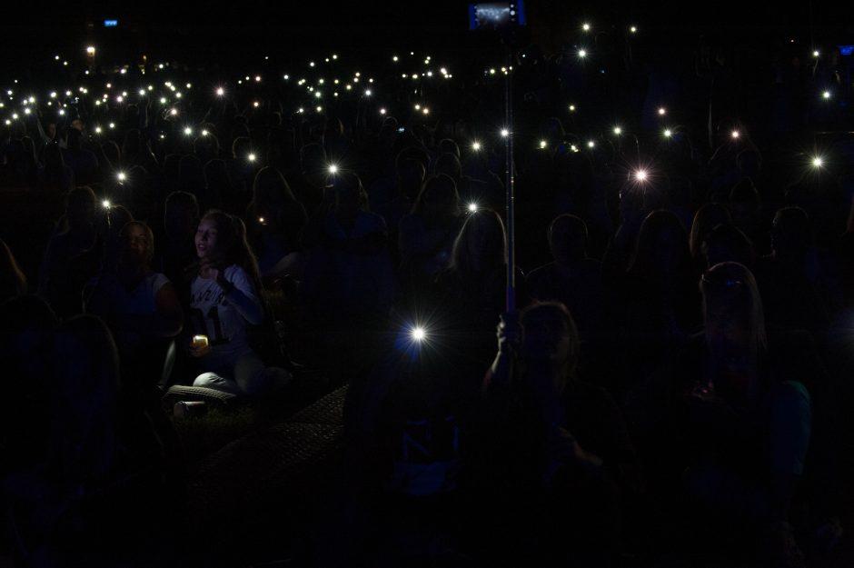 Po žvaigždėtu dangumi aidėjo jausmingos Jazzu dainos