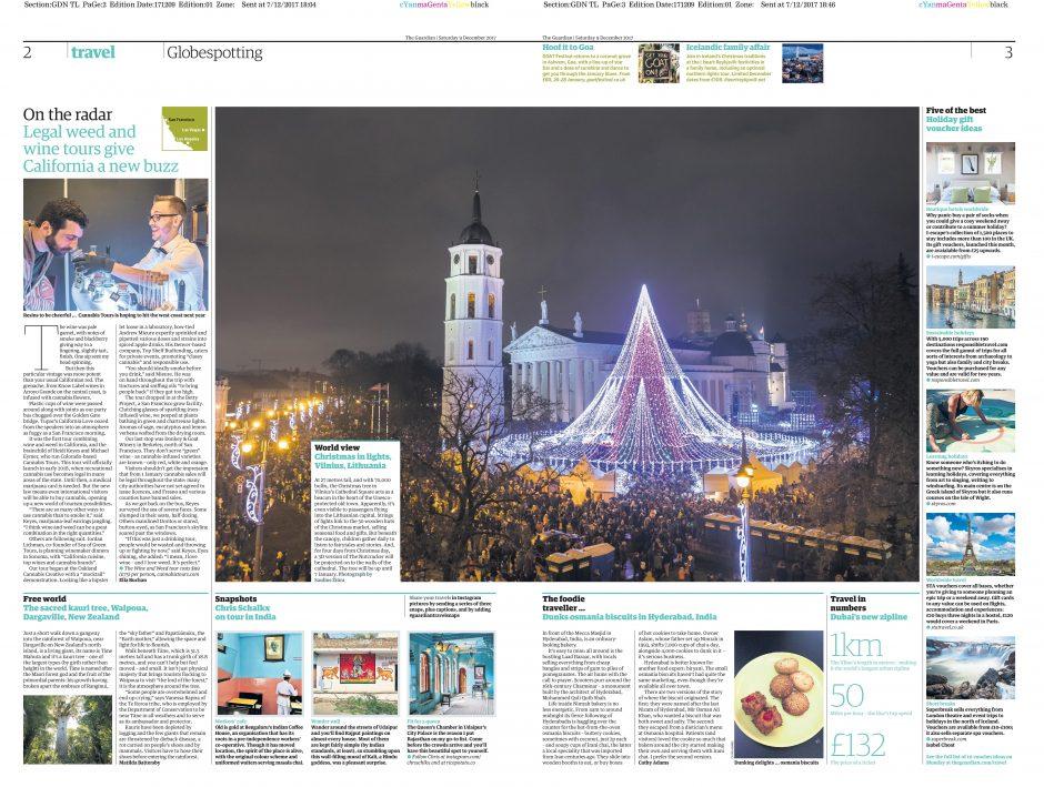 Vilniaus Kalėdos – užsienio žiniasklaidos dėmesio centre