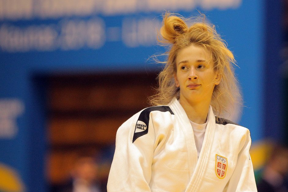 Europos jaunimo dziudo taurė. Šeštadienis