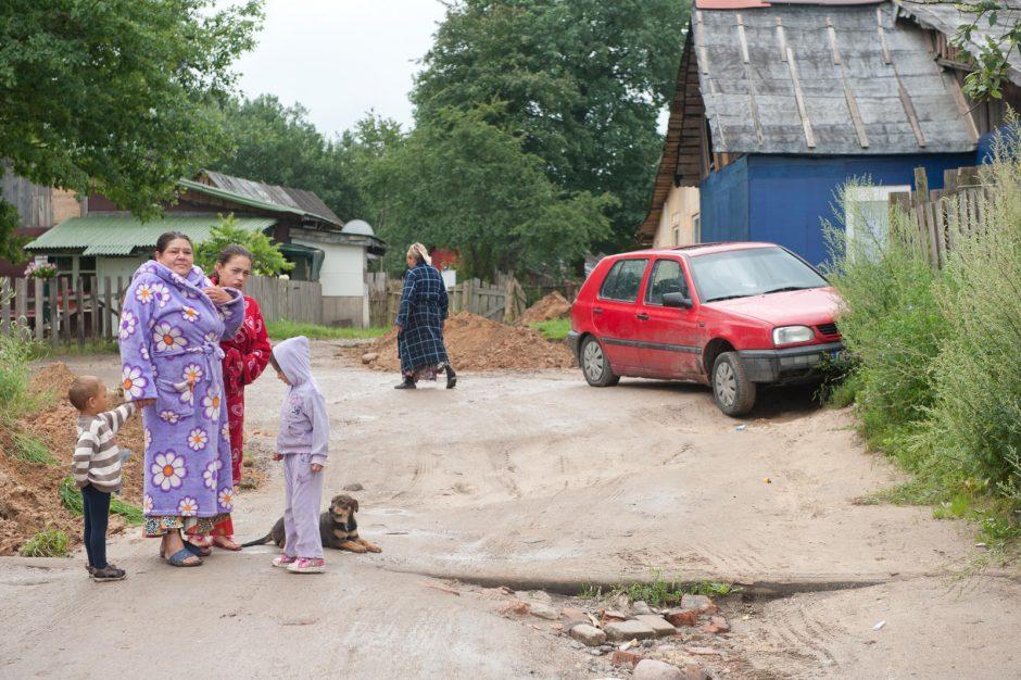 Vilniaus tabore sužalotas vyras