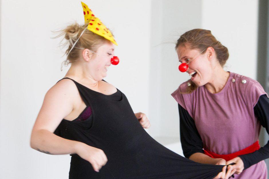 Gydytojų klounų įkvėpėjas: mirštantis vaikas irgi nori juoktis