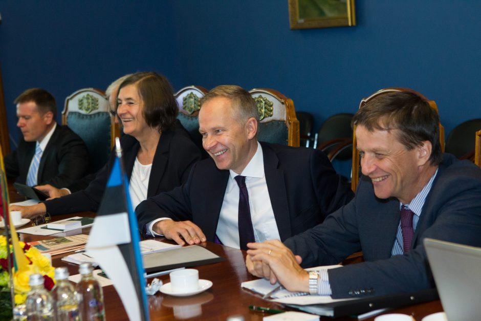 Baltijos šalių centrinių bankų vadovų susitikimas