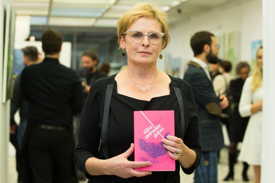 Kariuomenės analitikė: R. Vanagaitė stovi informacinio karo priešaky