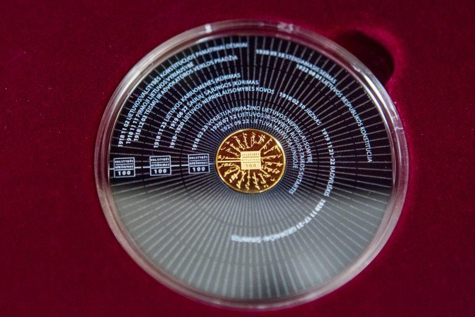 Šimtmečiui – kolekcinių monetų serija