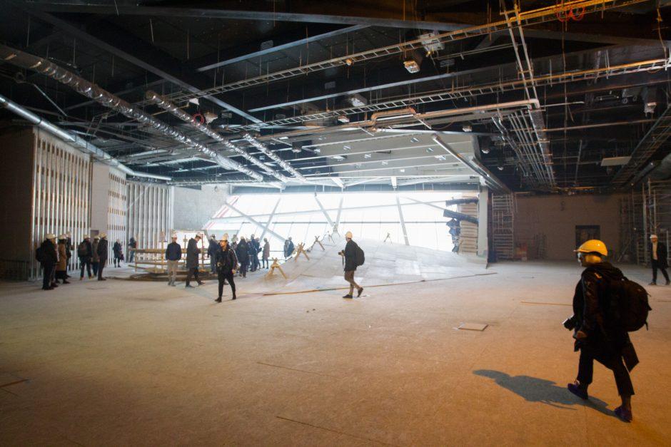 MO muziejus ruošiasi atidarymui