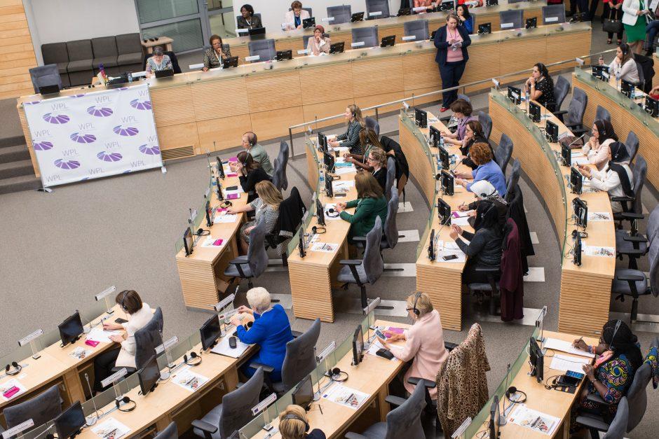 Moterų politikos lyderių suvažiavimas Seime