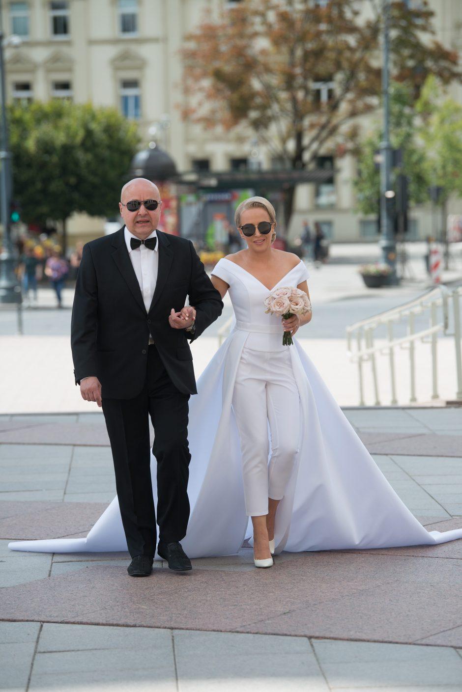 Dainininkės E. Puidokaitės-Atlantos vestuvės