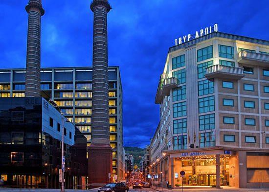Ką R. Meilutytė mato pro savo viešbučio langą Barselonoje?