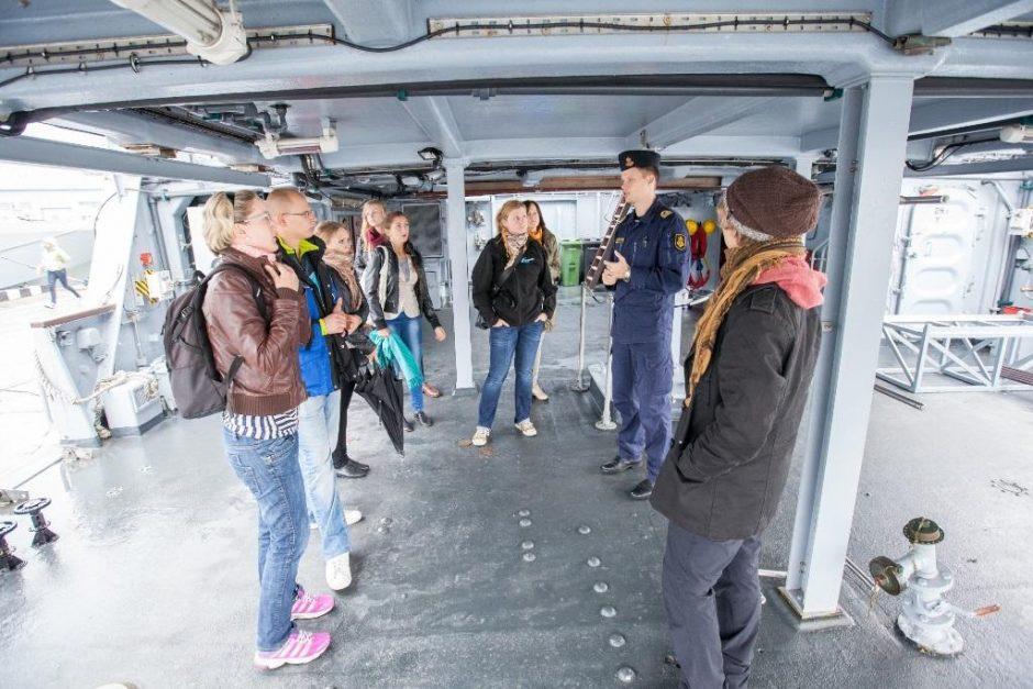 Lietuvos jaunimas gilina jūrines žinias