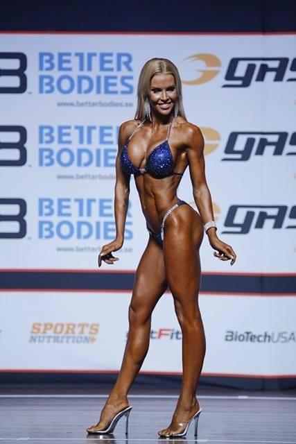 Lietuvė tapo Norvegijos kūno rengybos čempione