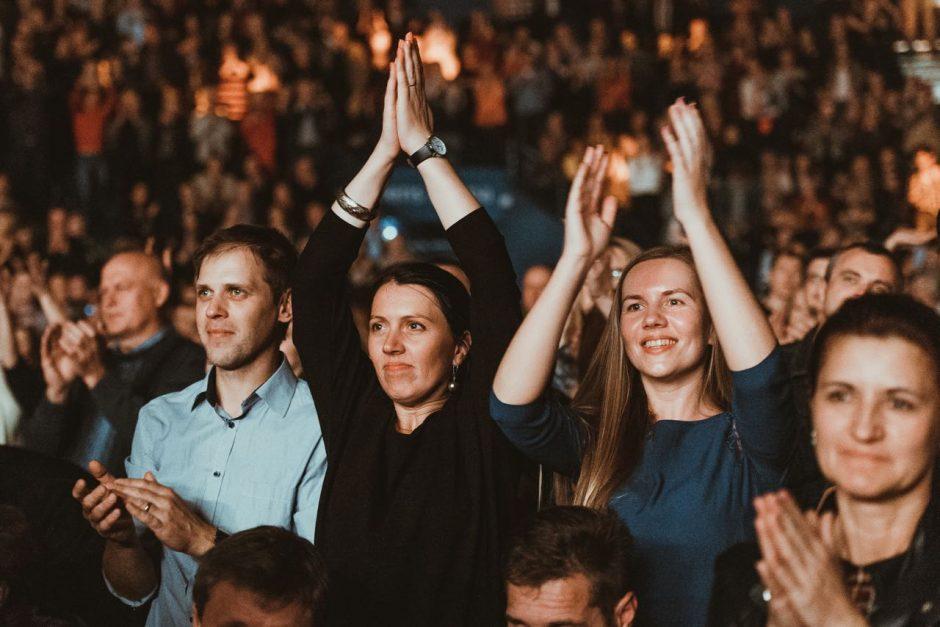 G. Paškevičius po koncerto Kaune: tai tapo mūsų gyvenimo dalimi