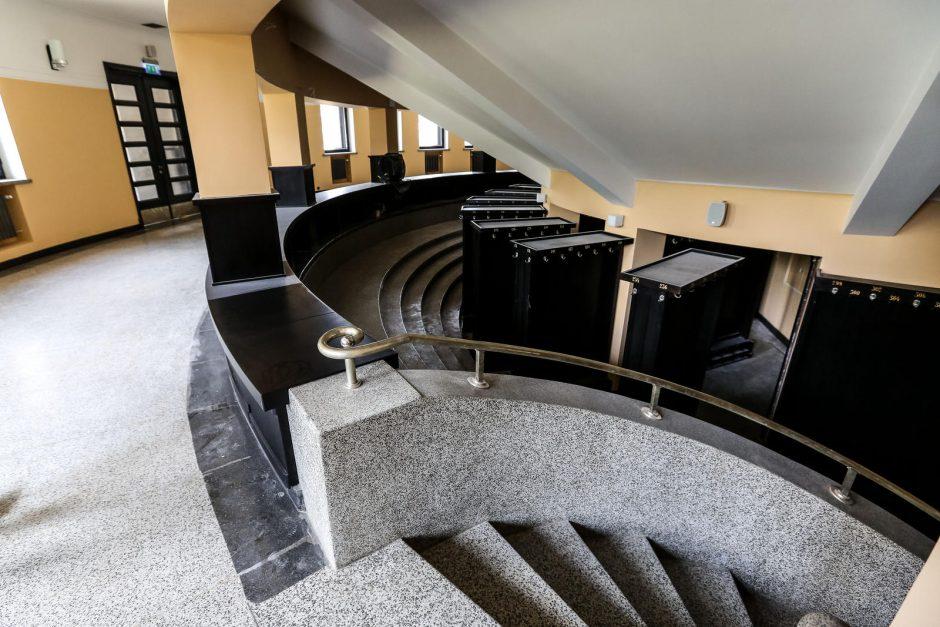 M.K.Čiurlionio dailės muziejaus remonto pabaigos dar nematyti