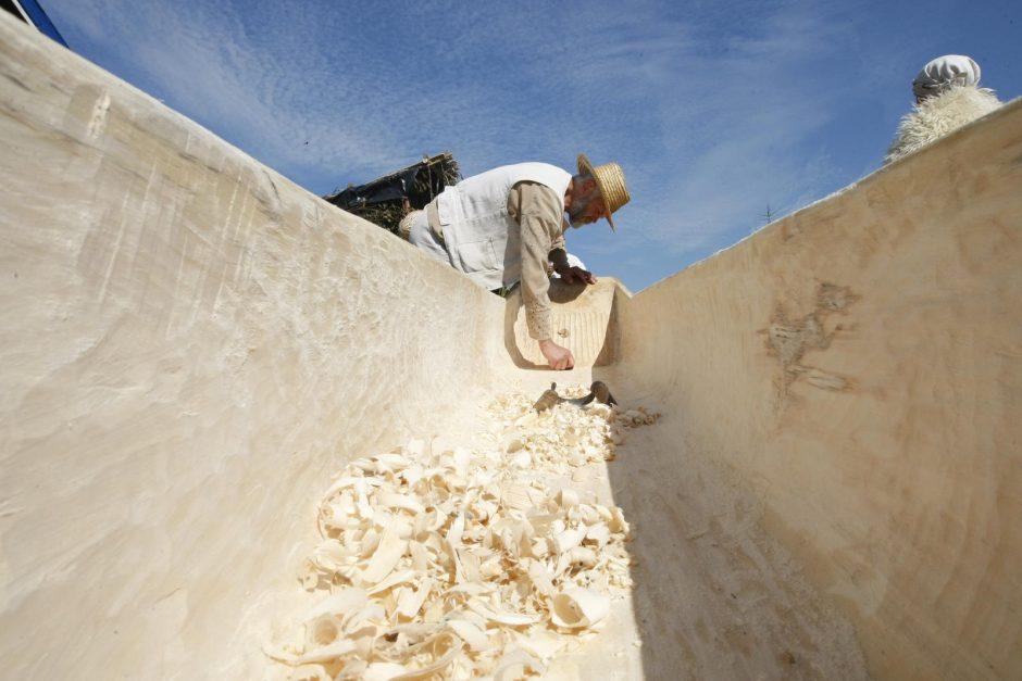 Eksperimentinė archeologija – tarsi kelionė į praeitį