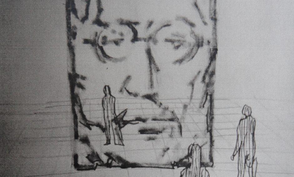 J. Lennono skulptūros romantizmas
