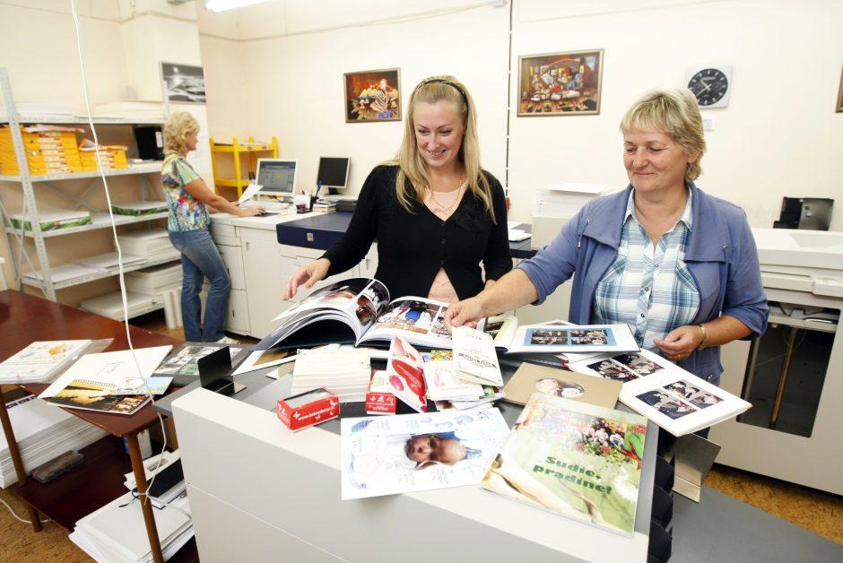Žurnalistas ir fotografas tris dešimtmečius Klaipėdoje suka spaustuvės verslą
