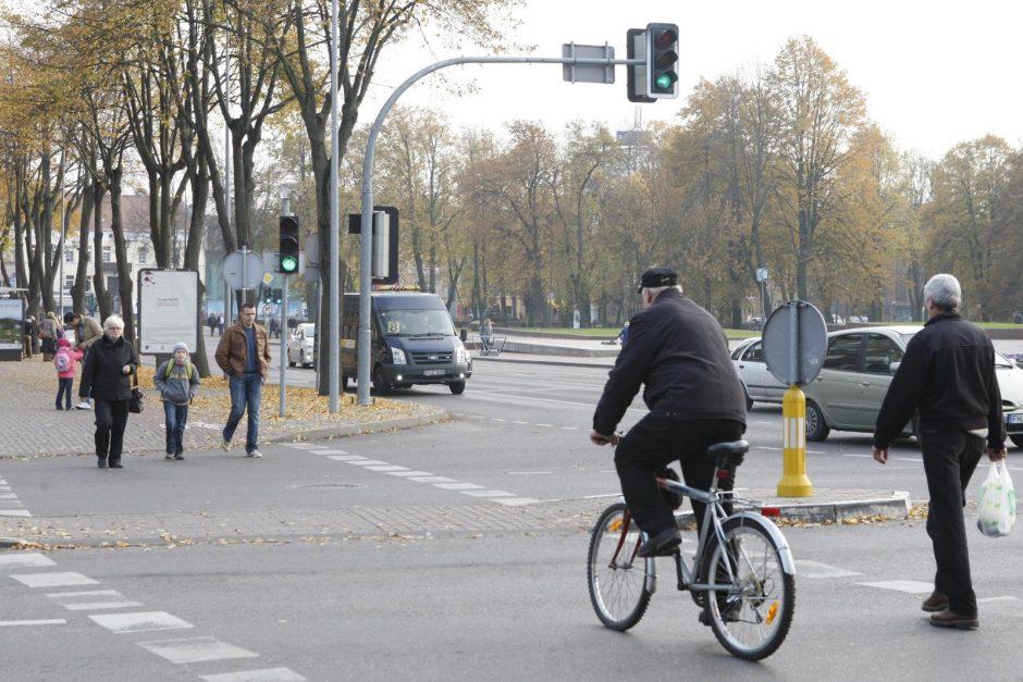Klaipėdos dviratininkams rengia egzaminą