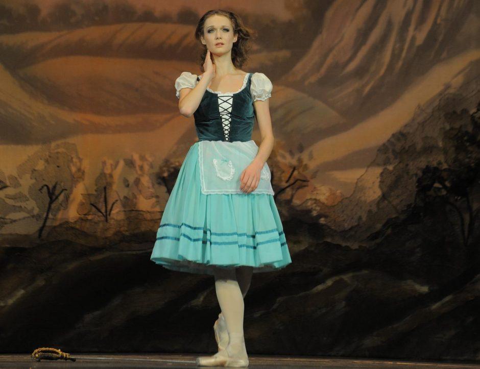 Sūnaus gimimas pasaulinės karjeros baleto teatro solistei nesustabdė