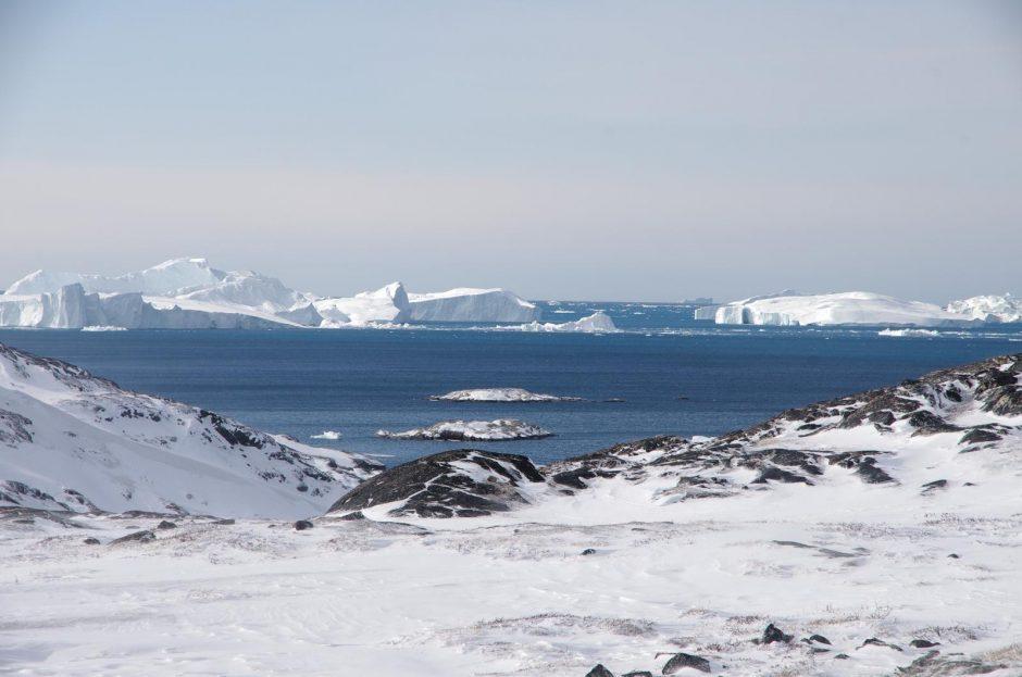 400 kilometrų slidėmis atšiaurioje Grenlandijoje