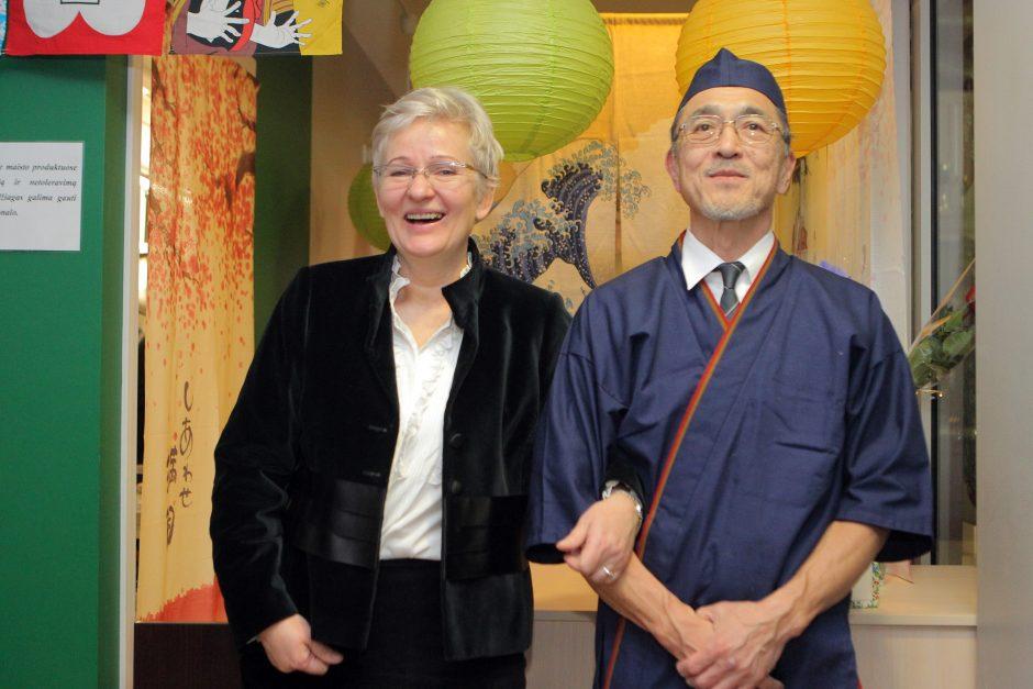 Lietuvės ir japono meilės istoriją vainikavo vestuvės be alkoholio
