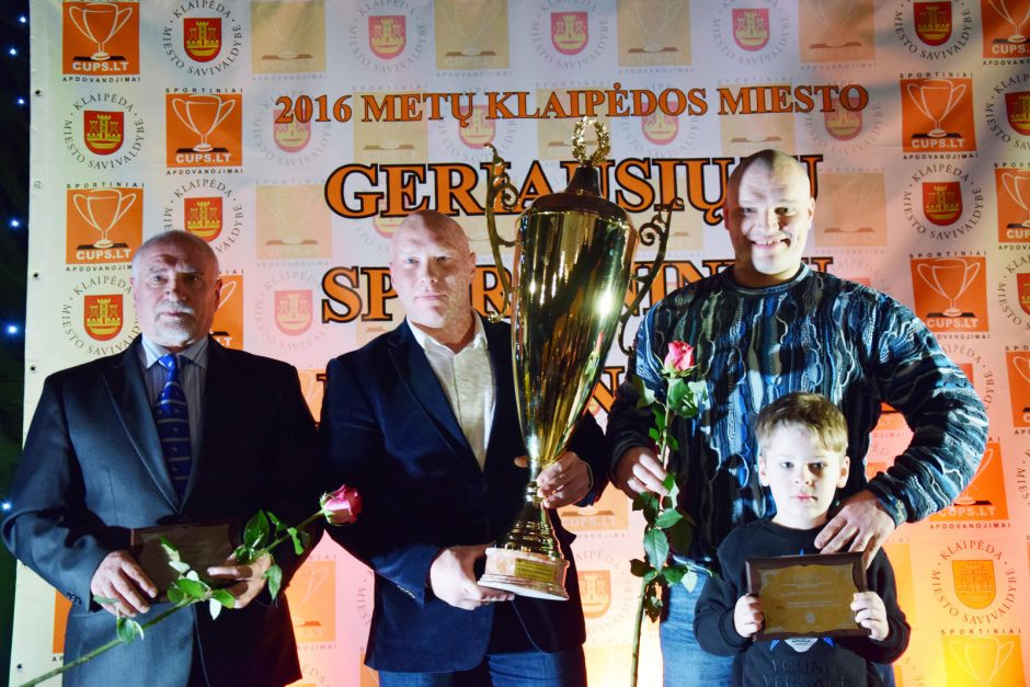 Pagerbti geriausi Klaipėdos sportininkai
