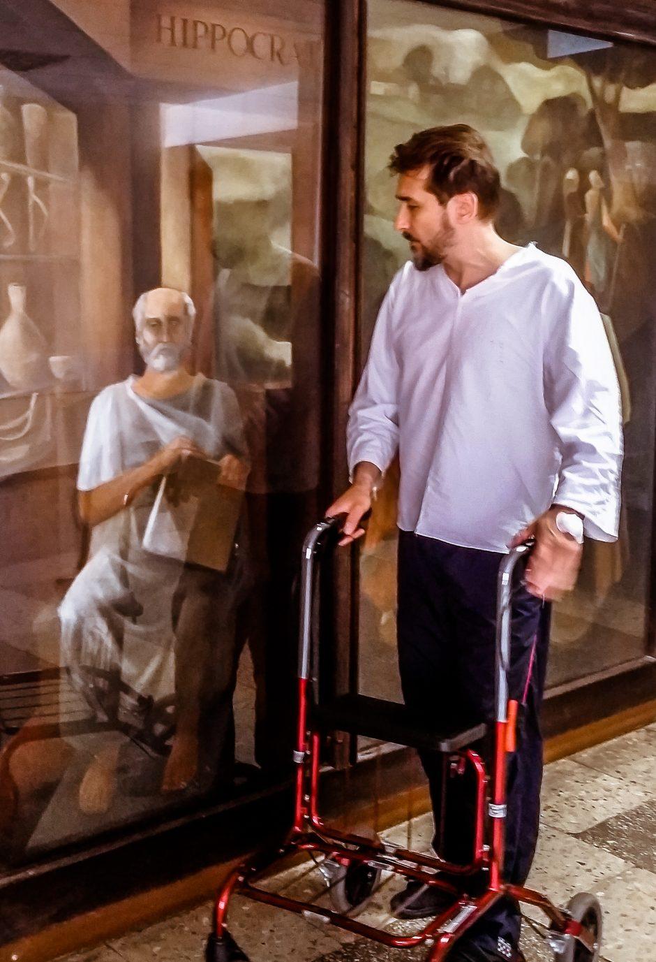 Skausmus kentęs magas A. Gaičiūnas ryžosi operacijai