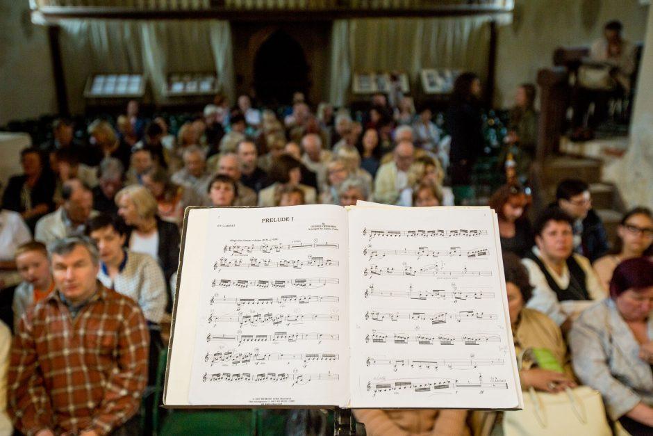 Skirtingus muzikantų kelius susiejo Vokietija
