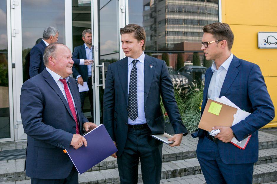 Ministras M. Sinkevičius: Kauno LEZ – pavyzdys kitiems