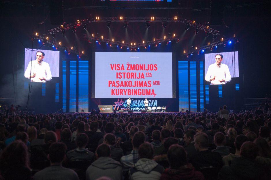Į geriausią pamoką Kaune susirinko tūkstančiai moksleivių