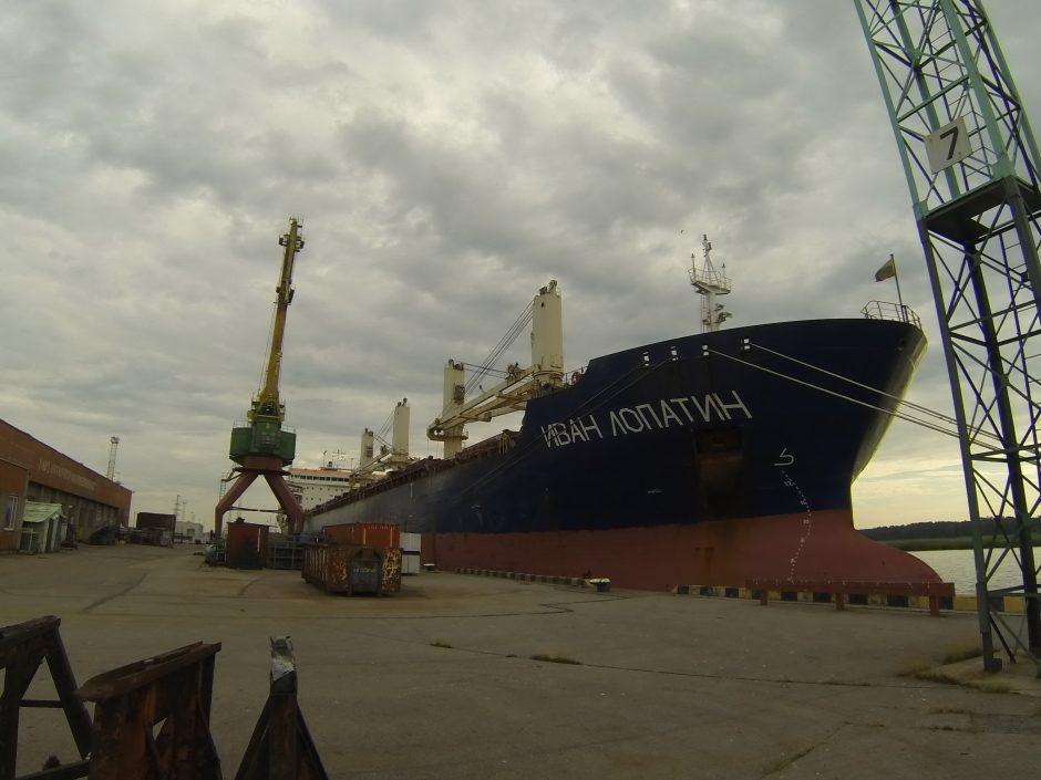 Rusijos piliečiai – laivo Klaipėdos uoste įkaitai