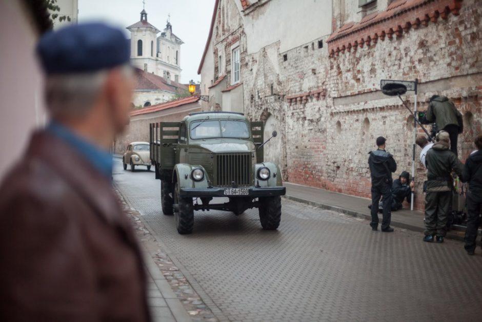 Vilniuje švedai filmo kūrimui įdarbino daugiau nei 700 lietuvių