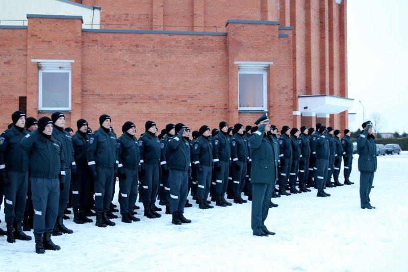 Laisvės gynėjų diena paminėta ir Policijos mokykloje