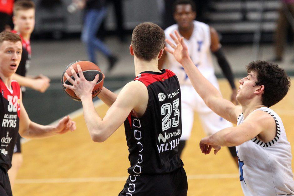 """Visus varžovus nušlavęs """"Lietuvos ryto"""" jaunimas pateko į finalinį Eurolygos turnyrą"""