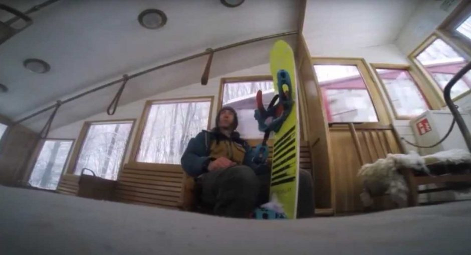 Kauniečiai miesto centre atrado slidinėjimo trasą